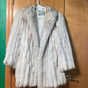 Vintage Saga Fox Fur Coat